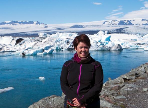 Ann Kristin på Island
