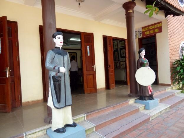 I landsbyen Dong Ho