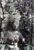 Dansende apsara i Et tempel
