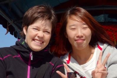 Stephanie i Yangshuo