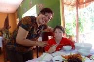 Mamma Vietnam i Cat Tien Nasjonalpark