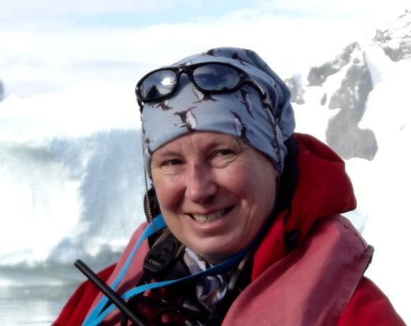 Rachel Duncan Morgan med 20 års erfaring fra Antarktis