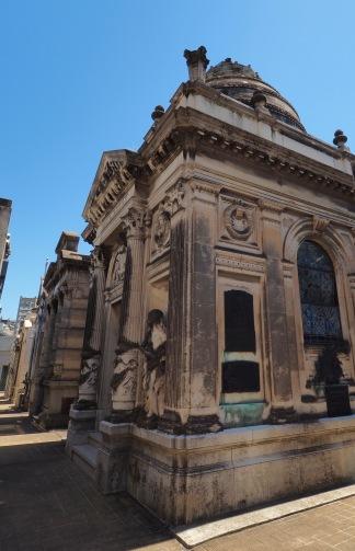 Mausoleet hvor Don Pedro ler stedt til hvile