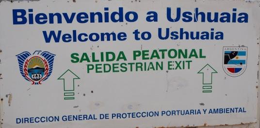 Velkommen til Ushuaia