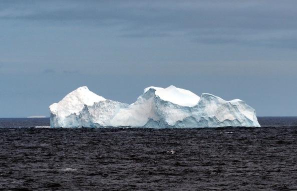 første isfjellene