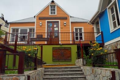 Fargerike hus