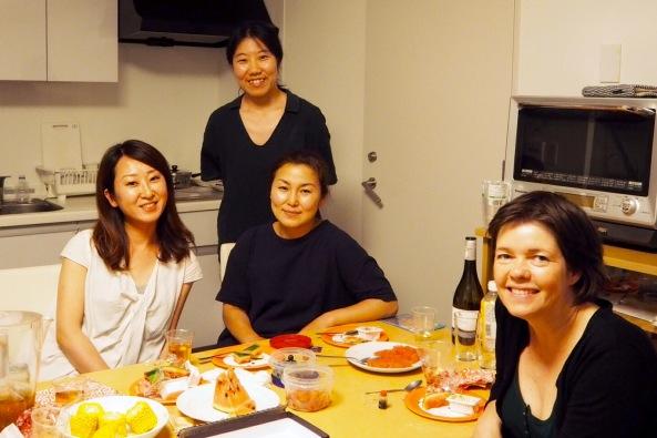 Vertinne Takako i midten