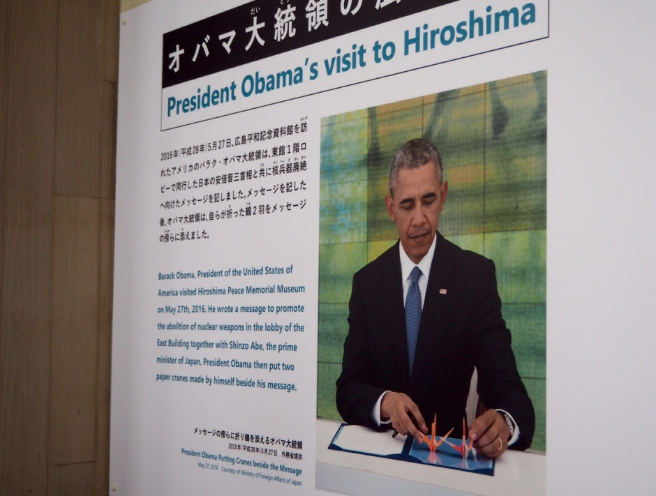 Barack Obama i Hiroshima 27.mai 2016