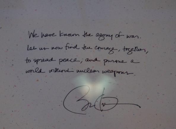 Hilsen fra President Barack Obama
